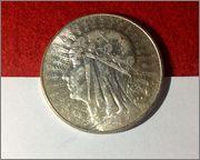 5 zlotych 1934 POLONIA Image