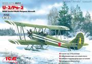 Обзор У-2/ПО-2 1/48 (ICM 48251) 000