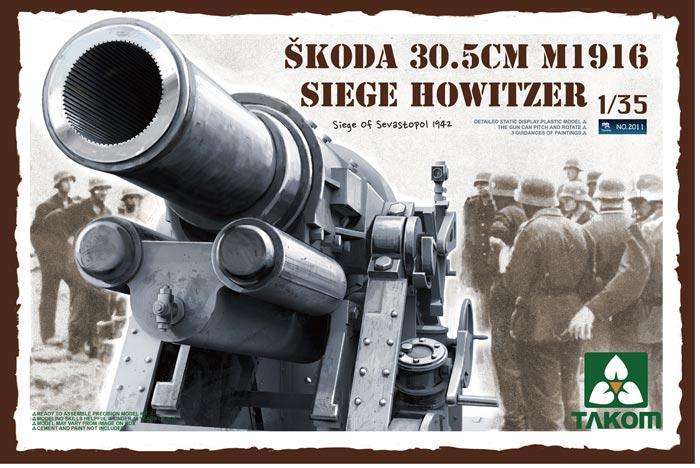 30.5cm Skoda M16 (1/35 Takom 2011) Image