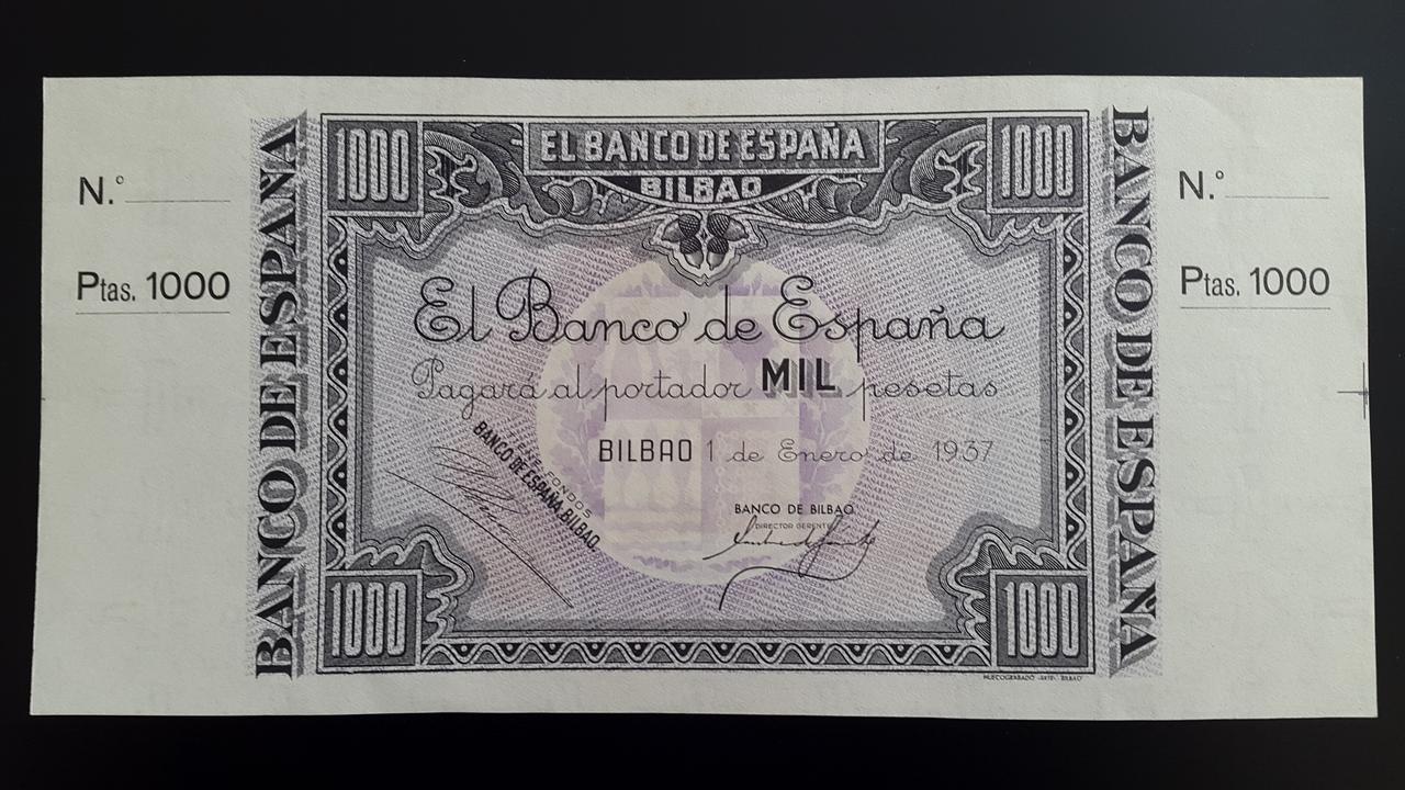 Lote de billetes de Bilbao 1937 y sus manchitas 20180723_163423