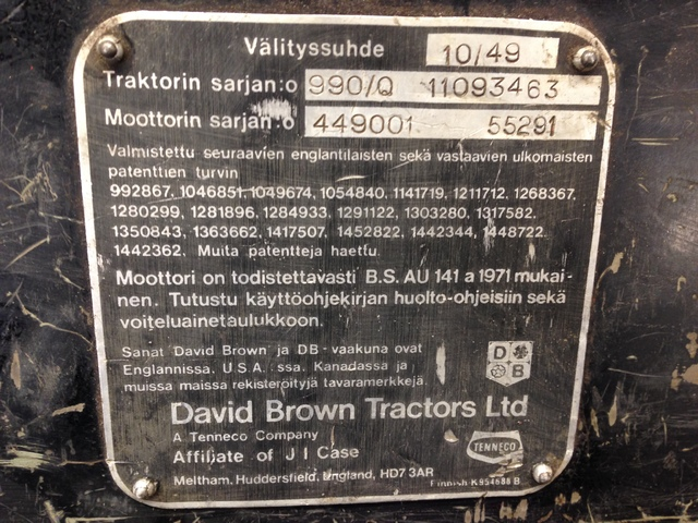 M: David Brown laatikko IMG_1388