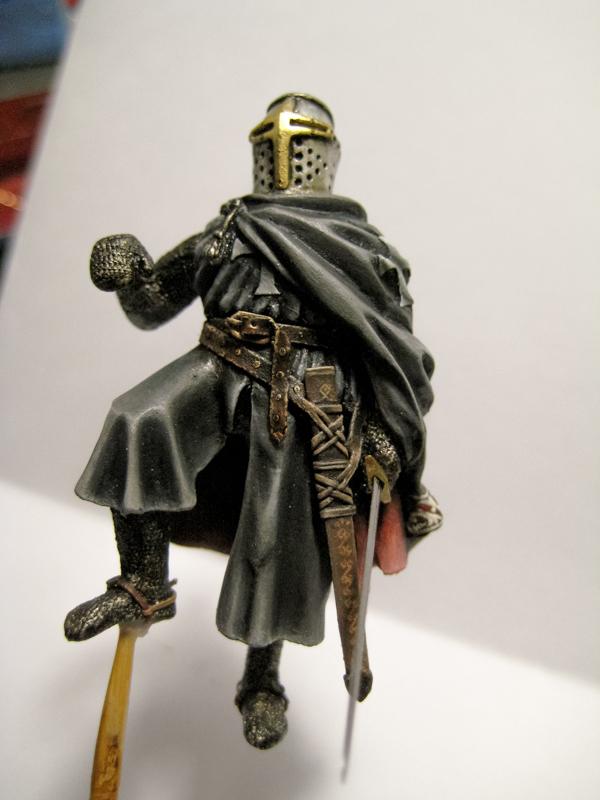 Рыцарь госпитальеров 11 век. Прапор. 55 мм. Image