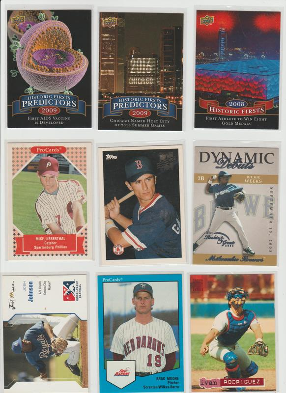.15 CENT CARDS ALL SCANNED OVER 6000 CARDS  025