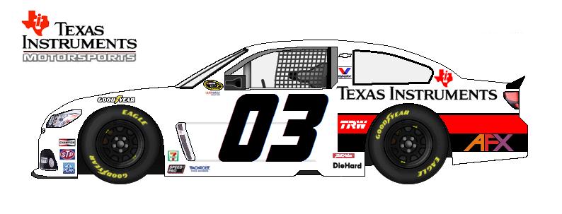 Texas Instruments Motorsports unveils new Sprint Cup team TEXAS_INST_MTR