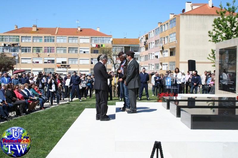 MONTIJO: As imagens da inauguração do Monumento de Homenagem aos Combatentes do Ultramar - 25Abr2016 20160425_59