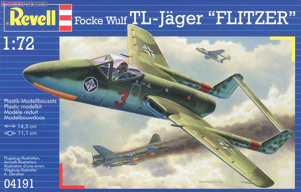 """Project VII """"Flitzer"""" 1/72 Revell 4191 000"""