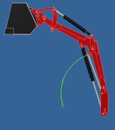 Proyecto de construccion de una pala para un mini tractor 017