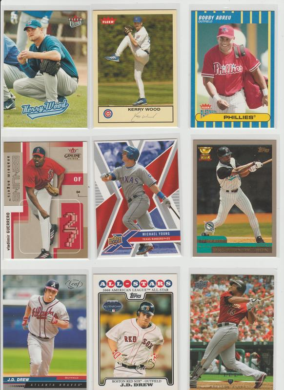 .15 CENT CARDS ALL SCANNED OVER 6000 CARDS  024
