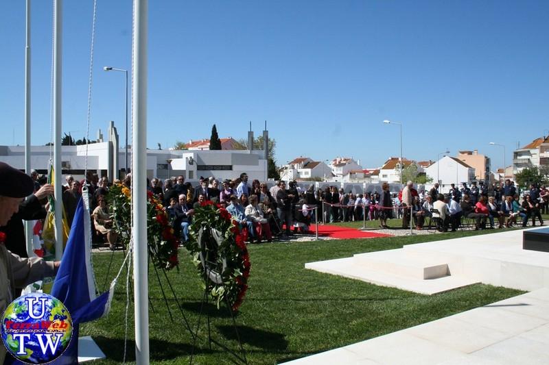 MONTIJO: As imagens da inauguração do Monumento de Homenagem aos Combatentes do Ultramar - 25Abr2016 20160425_9