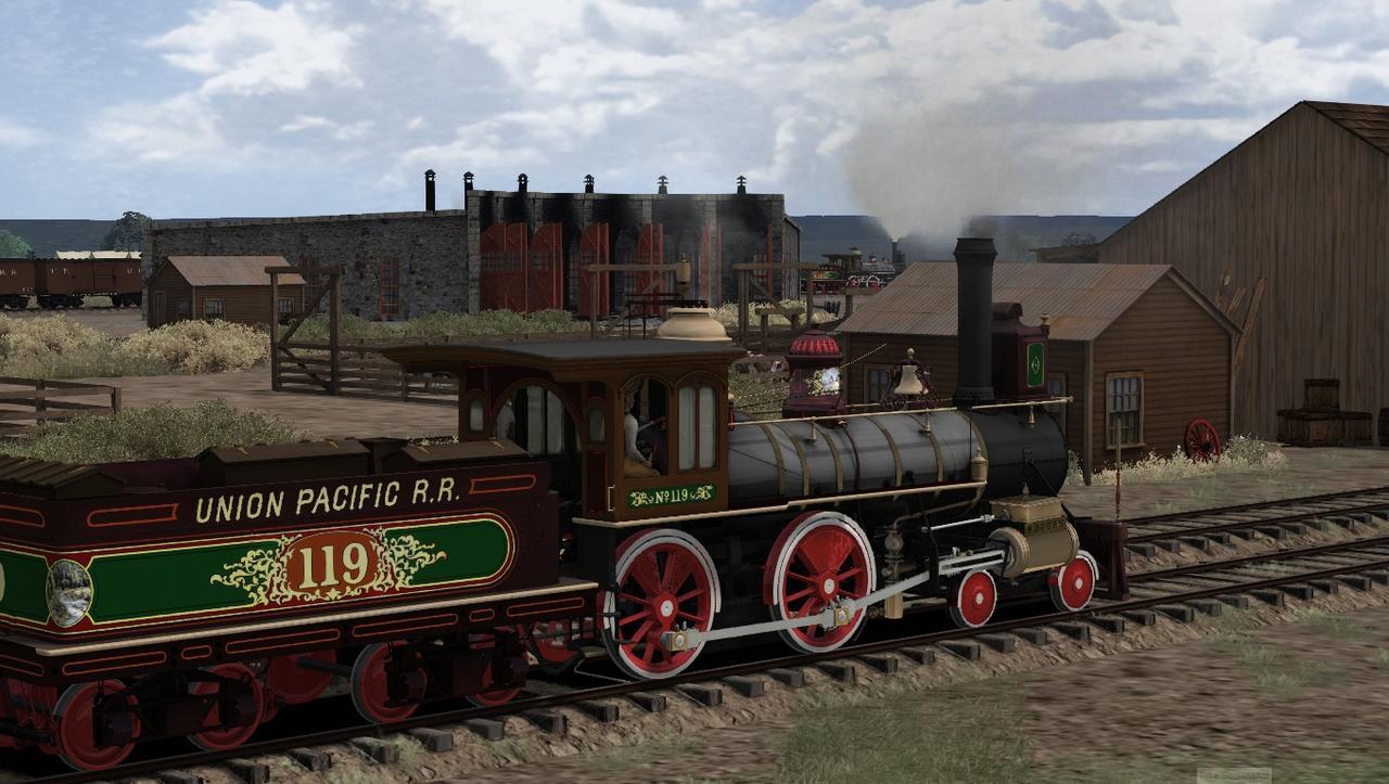 """TS2018 - Rota Cheyenne 1869 com a UP190 """"America"""" Screenshot_Cheyenne_1869_41.13106--104.81600_15-08-55"""