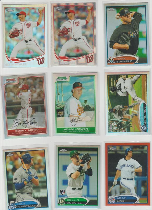 .15 CENT CARDS ALL SCANNED OVER 6000 CARDS  060