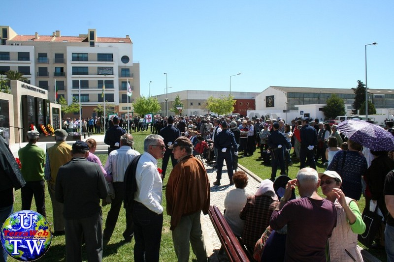 MONTIJO: As imagens da inauguração do Monumento de Homenagem aos Combatentes do Ultramar - 25Abr2016 20160425_96