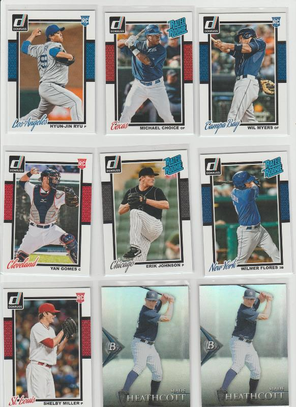 .15 CENT CARDS ALL SCANNED OVER 6000 CARDS  041