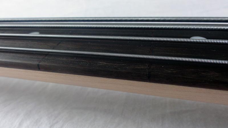 Squier VM Jazz Bass LH Fretted - Fretless (Modificação) Image