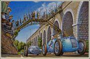1938 Grand Prix races 02_Artiste_Fabrice_Lachavane_peinture_Pau_le_10