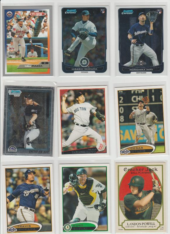 .15 CENT CARDS ALL SCANNED OVER 6000 CARDS  074