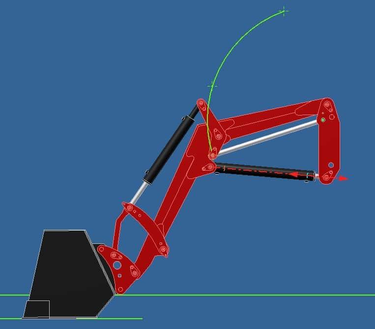 Proyecto de construccion de una pala para un mini tractor 015