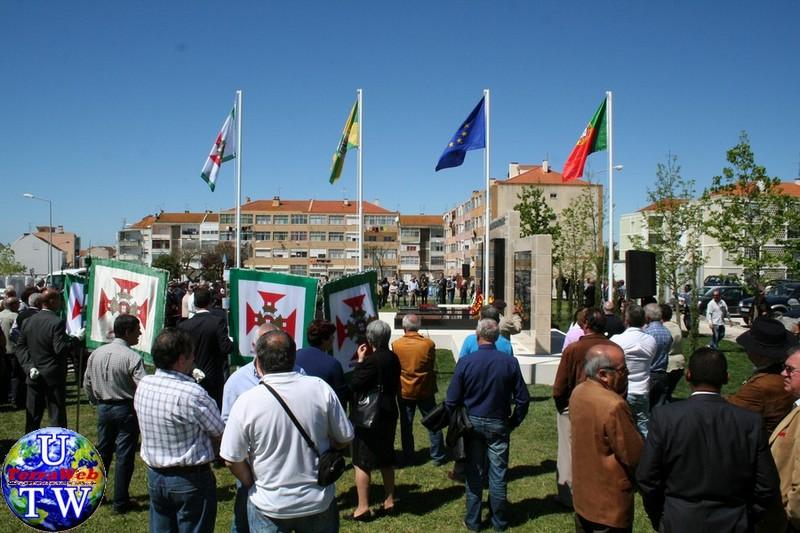 MONTIJO: As imagens da inauguração do Monumento de Homenagem aos Combatentes do Ultramar - 25Abr2016 20160425_104