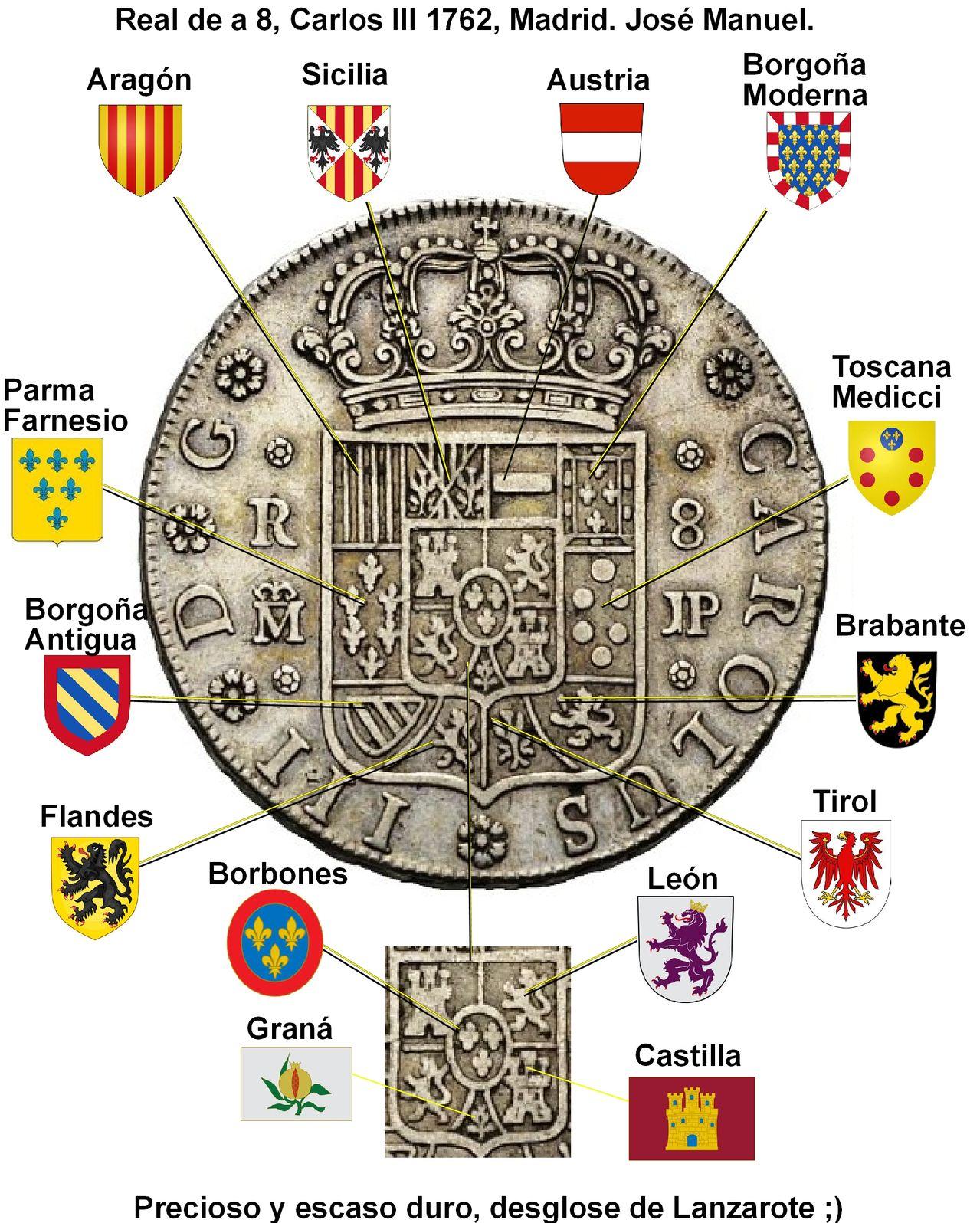 8 REALES PENINSULARES DE CARLOS III - 1762 - MADRID 8_reales_1762_desglose