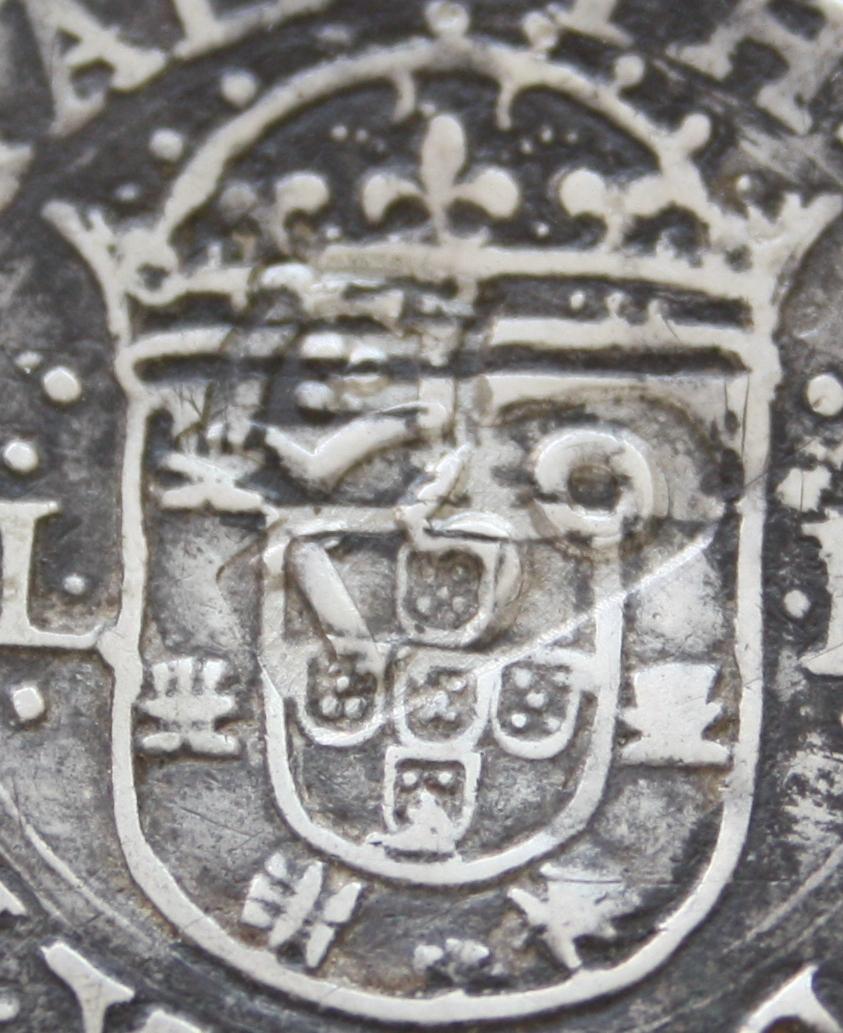 Tostao de Felipe III, Lisboa, dedicado al amigo jaenero 14_FOTO_ESCUDO_PORTUGAL