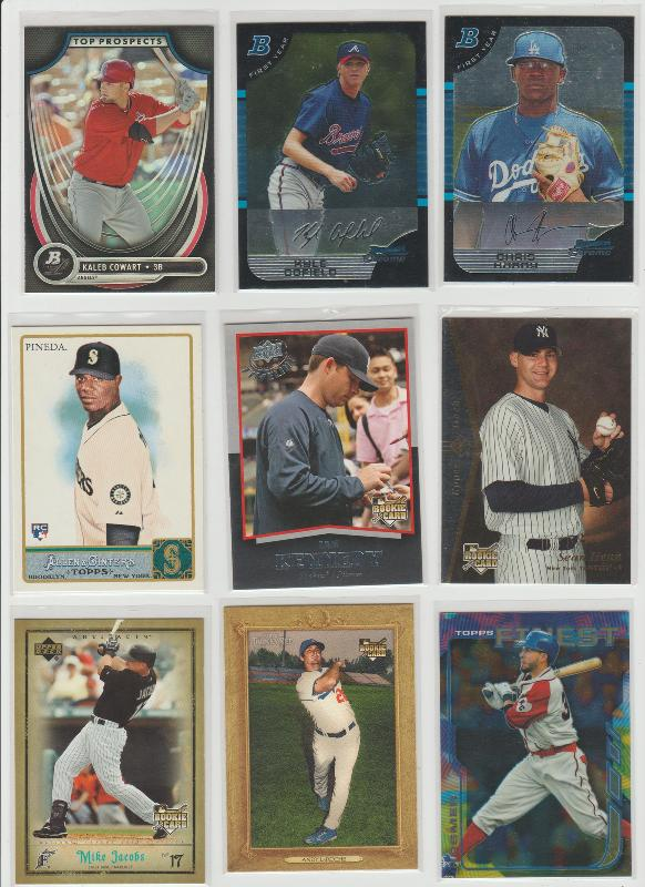 .15 CENT CARDS ALL SCANNED OVER 6000 CARDS  011