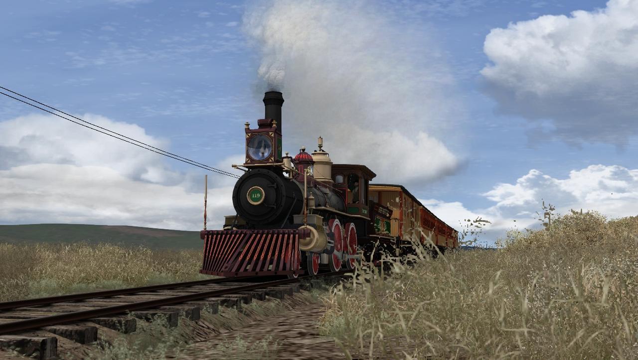"""TS2018 - Rota Cheyenne 1869 com a UP190 """"America"""" Screenshot_Cheyenne_1869_41.09246--105.01019_16-00-15"""
