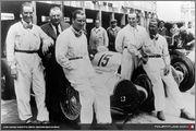 1938 Grand Prix races 99_Team_Mercedes_von_Brauchitsch_Neubauer_Seama