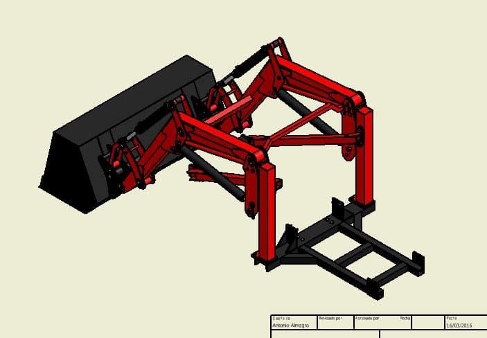 Proyecto de construccion de una pala para un mini tractor 003
