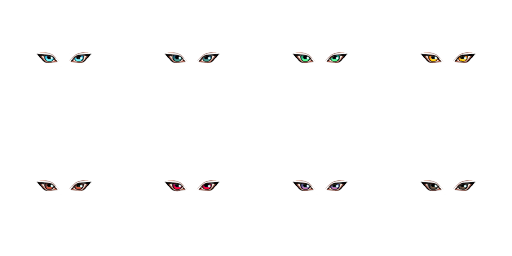 Face-set Kaduki Style Eyes16