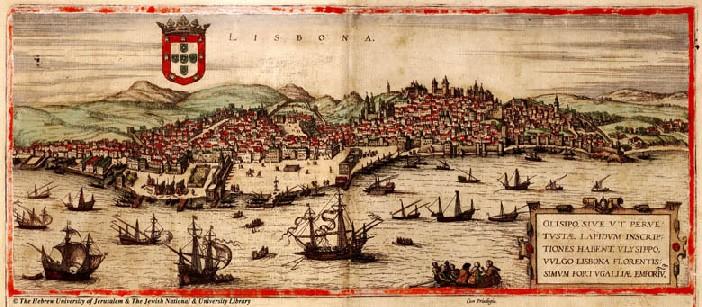 Tostao de Felipe III, Lisboa, dedicado al amigo jaenero 12lisboa