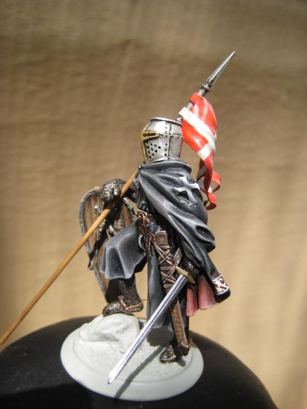 Рыцарь госпитальеров 11 век. Прапор. 55 мм. IMG_9026