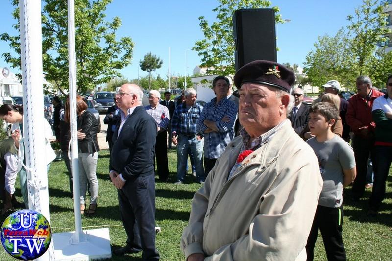 MONTIJO: As imagens da inauguração do Monumento de Homenagem aos Combatentes do Ultramar - 25Abr2016 20160425_34