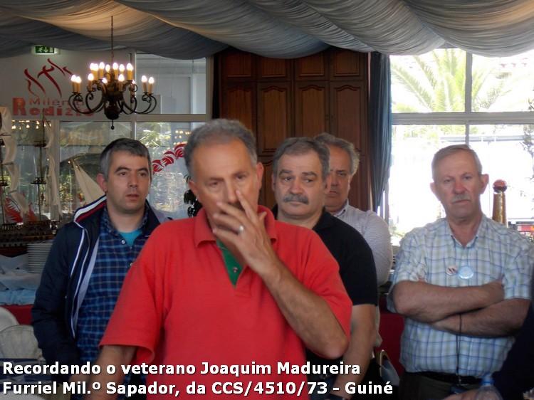 Faleceu o veterano Joaquim V Sá Madureira, Furriel Milº Sapadoir, da CCS/BCac4510/73 - 22Mar2016 10397098_534732629965630_8635118746893386322_o