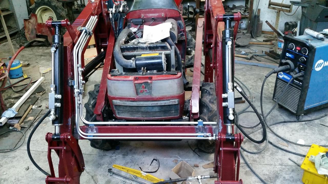 Proyecto de construccion de una pala para un mini tractor 189