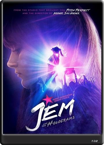 Jem and the Holograms [2015] [HDrip] [Avi] [Latino] [MG-UB] Jmh