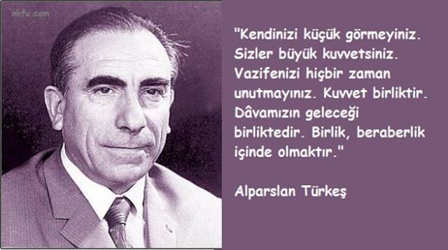 Alparslan Türkeş resimli sözleri, özlü sözler, vecizeler. Alparslan_Turkes_Sozleri_5