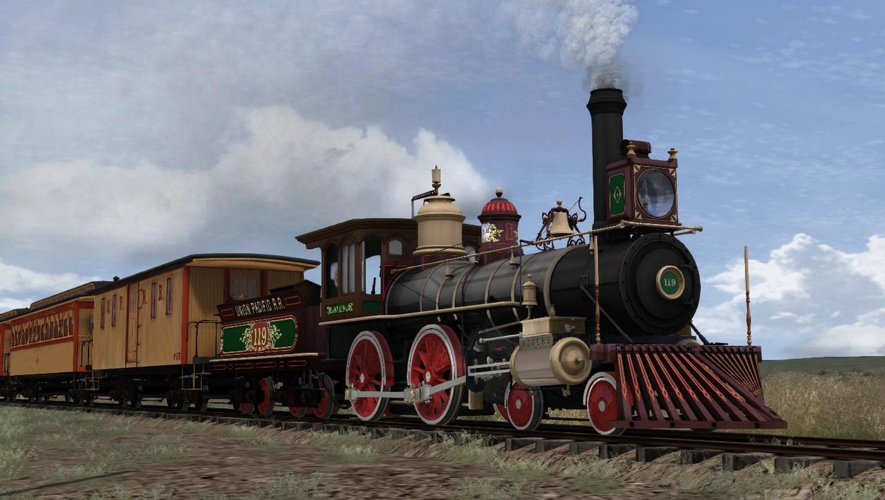 """TS2018 - Rota Cheyenne 1869 com a UP190 """"America"""" Screenshot_Cheyenne_1869_41.08509--104.95278_15-42-39"""