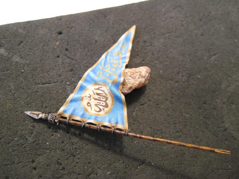 Рыцарь госпитальеров 11 век. Прапор. 55 мм. IMG_9082