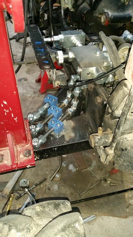 Proyecto de construccion de una pala para un mini tractor 186