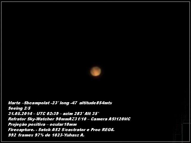 Começando na astrofotografia  MARTE_31_05
