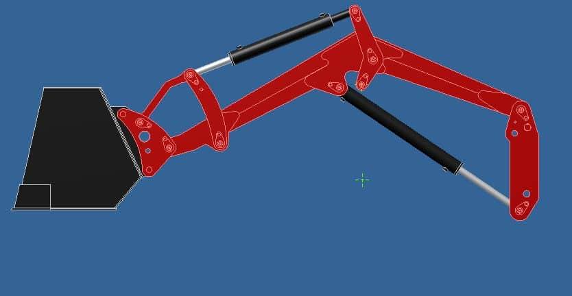 Proyecto de construccion de una pala para un mini tractor 011