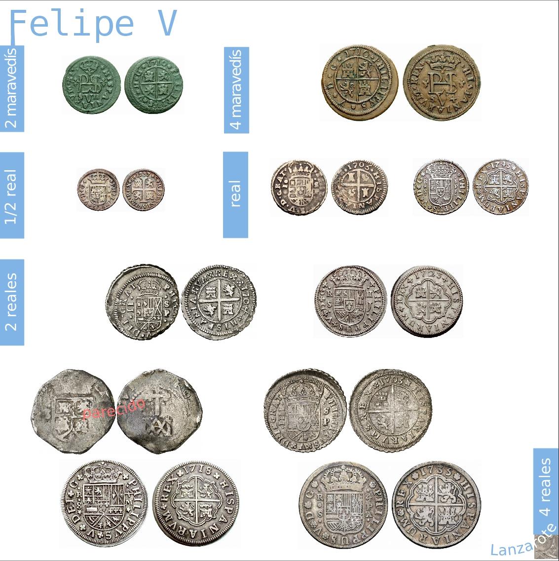 Real de Pedro I (1350-1369) de Sevilla MONTAJE_13_FELIPE_V_A