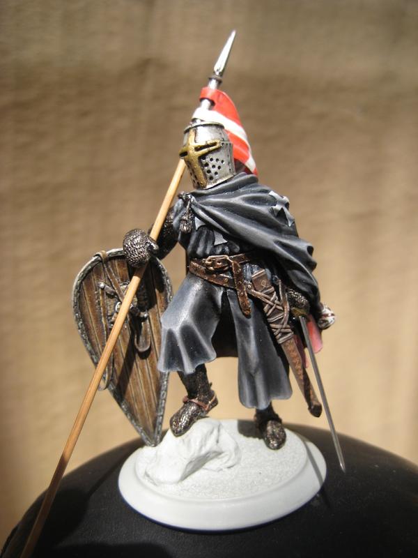 Рыцарь госпитальеров 11 век. Прапор. 55 мм. IMG_9022