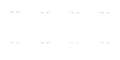 Face-set Kaduki Style Eyebrows10