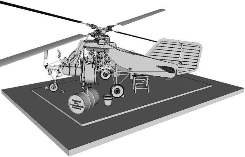 1/18 scale Flettner Fl-282 V21 Kolibri scratchbuild model - Page 4 IMAGE_0357