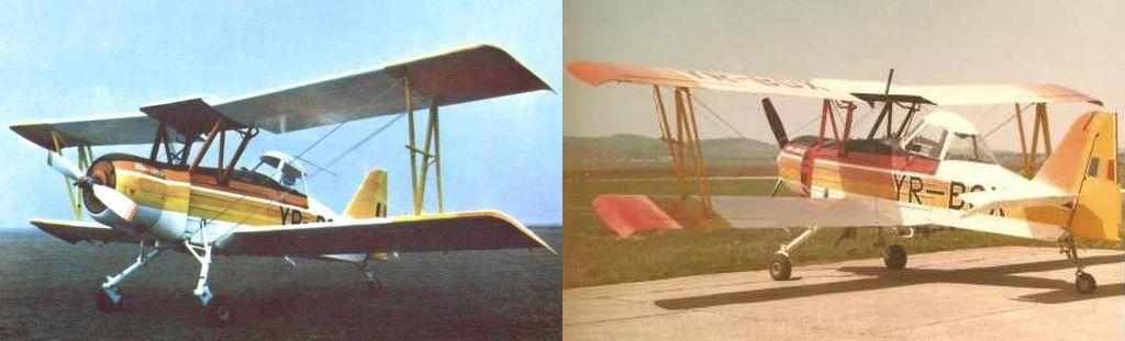 Preserved Aircraft in Romania YR_BGX_Panorama
