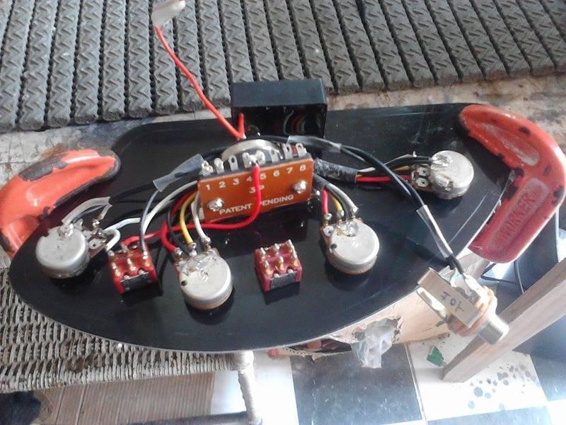 UPgrade e customização Tagima TBM-04 com MJ-Luthier 10705241_743877925670218_93652999_n