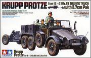 Kfz.69 Krupp Protze с орудием 3.7cm Pak 35/36 (1/35 Tamiya 35259 + Звезда 3610) 001