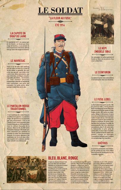 WWI uniforms Le_Soldat_La_Fleur_Au_Fusil_Ete1914
