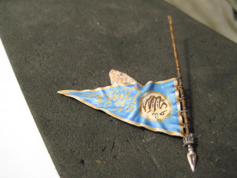Рыцарь госпитальеров 11 век. Прапор. 55 мм. IMG_9079